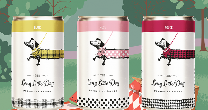 The Long Little Dog tölkkiviinit