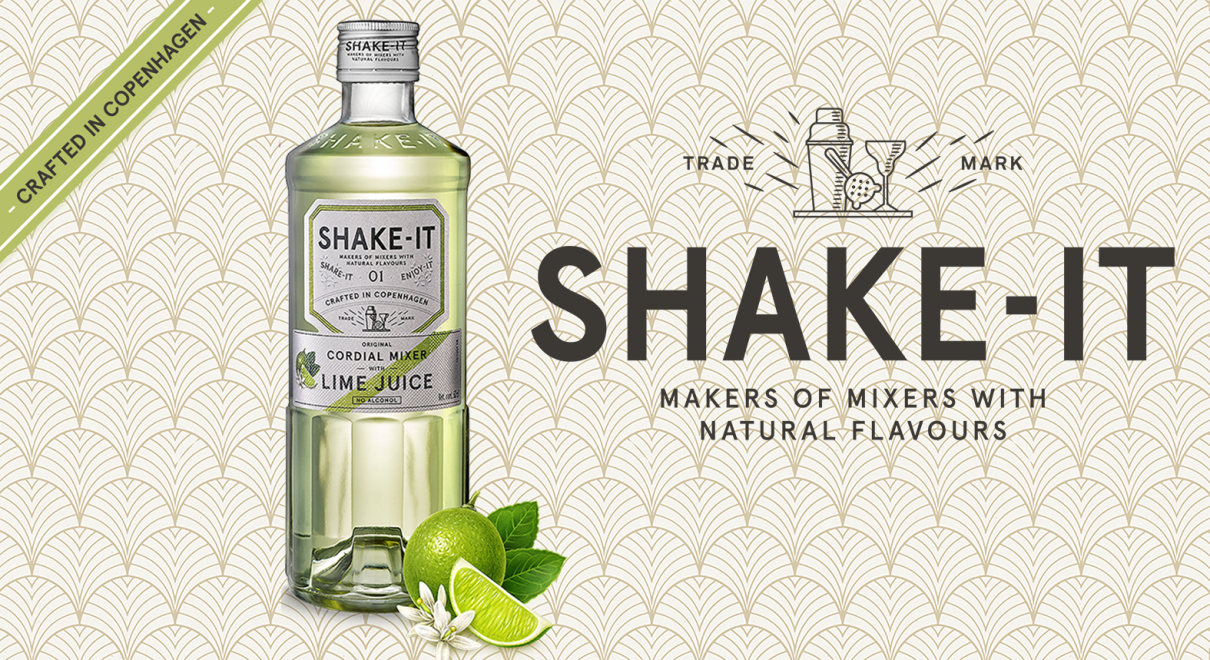 Shake-it Lime juomamikseri