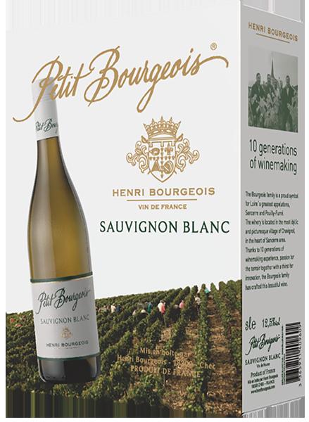 Henri Bourgeois Petit Bourgeois Sauvignon Blanc 2019 hanapakkaus
