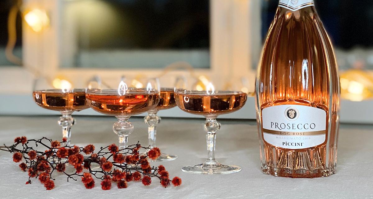 Piccini Prosecco Rosé Extra Dry