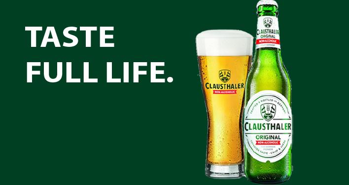 Clausthaler Original Taste Full Life