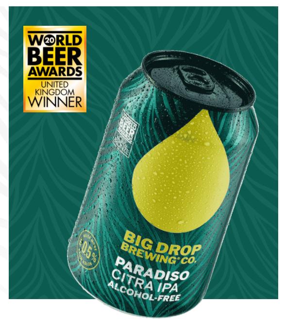 Big Drop Paradiso Citra IPA alkoholiton olut