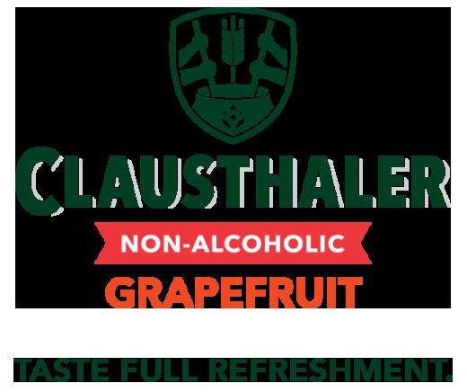 Clausthaler Grapefruit logo