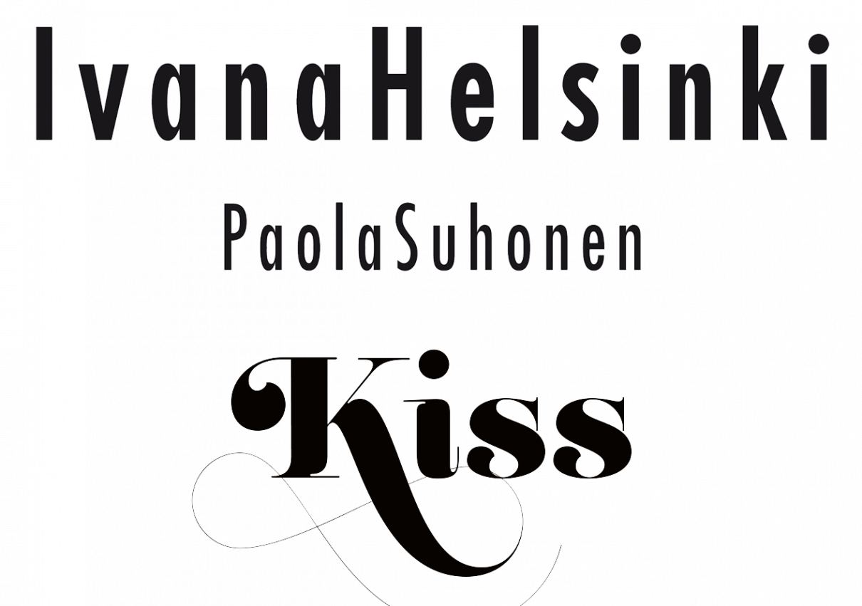Ivana Helsinki Paola Suhonen Kiss logo